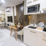 Fully furnished studio in a new project in Jomtien