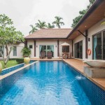 Three Bedrooms Modern Oriental Style Pool Villa For Sale