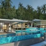 High end villas, sustainable construction, unique VIP services and breathtaking sea views