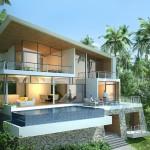 The Amethyst Villa, High end villas with unique sea views on Lamai