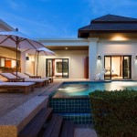 Thai-Contemporary Villa in Naiharn
