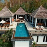Luxury 5 bedroom pool villa with stunning view @ Layan