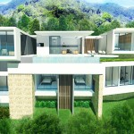 C View – Bangrak Bay – Koh Samui – 2 Modern Villas with Beautiful Sea View