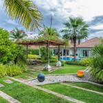 Luxurious villa on a big land