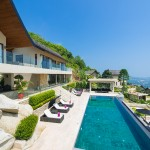 Luxurious 5 bedroom villa with outstanding panoramic sea views – Chaweng Noi