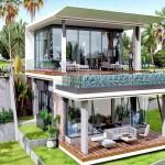 3 Bedroom Ocean View Villa in Karon