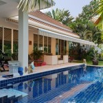 3-Bedrooms Pool Villa with Tropical Mountain View