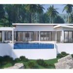 Modern villa sea view in Bophut hills for sale