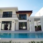Modern styled pool villa in a secure gated community