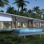 2 – 3 Bedrooms Sea-view Pool Villas in Lamai