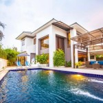 Luxury modern double storey house for rent.