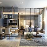 New Project !!! Gorgeous 1 Bedroom For Sale- BTS Asoke, MRT Sukhumvit