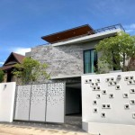 Modern pool villa house for sale.