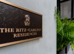 Entrance of the luxury and exclusive Ritz Carlton Residence, Bangkok
