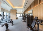 Gym at the luxury and exclusive Ritz Carlton Residence, Bangkok