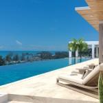 choeng mon luxurious town house close to the beach