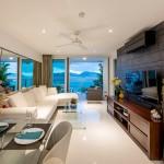 2 bedrooms seaview condominium in Kalim